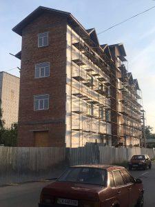 фото работ Фасад Майстер - нанесение декоративной штукатурки утепление зданий в Кременчуге