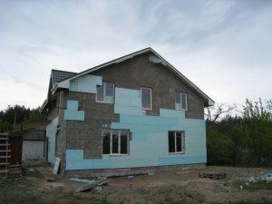 фото реставрация фасада пенопласт кременчуг - ремонт фасадов Полтавская область