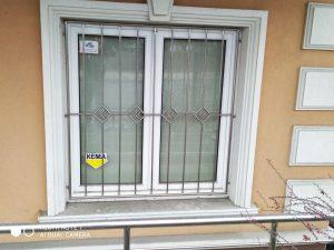 решетки на окна нержавейка кременчуг с декором